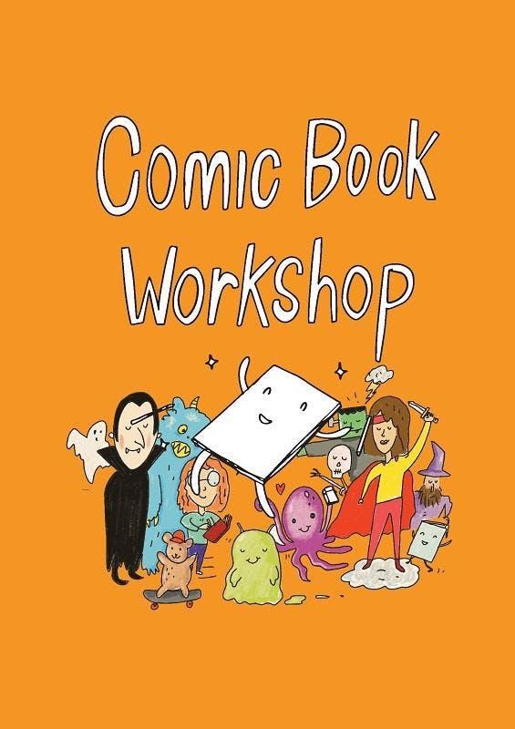 Comic book workshop - Mornington Library