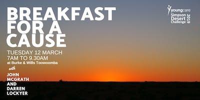 Breakfast for a Cause with John McGrath & Darren Lockyer