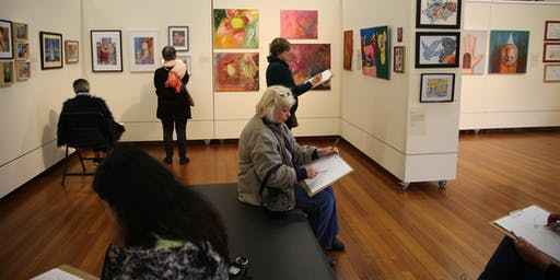 Gallery Sketchers: Relaxed drawing at the Incinerator Gallery