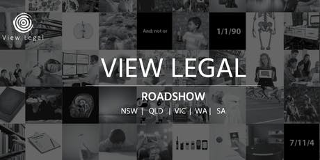 View Legal Roadshow 2019 Canberra  tickets