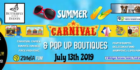 BF6565 2nd Annual Summer Carnival & Pop Up Boutiques tickets