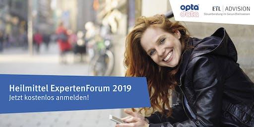 Heilmittel ExpertenForum Aachen 02.10.2019