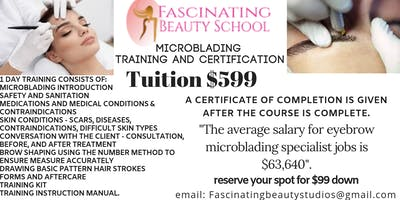Microblading Certification and Training