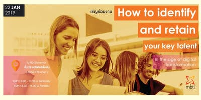 Free Seminar How to identify and reta