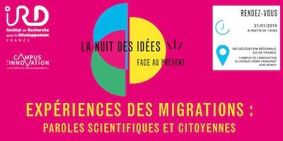 Nuit des idées à Bondy - Expériences des migrations