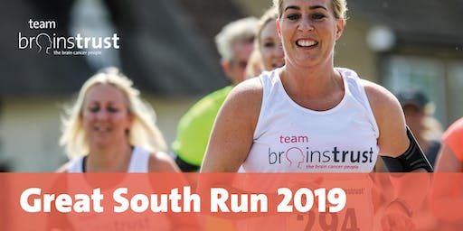 Great South Run 2019 - brainstrust (charity place)