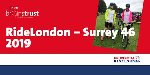 Prudential Ride London Surrey 46 - brainstrust free charity place