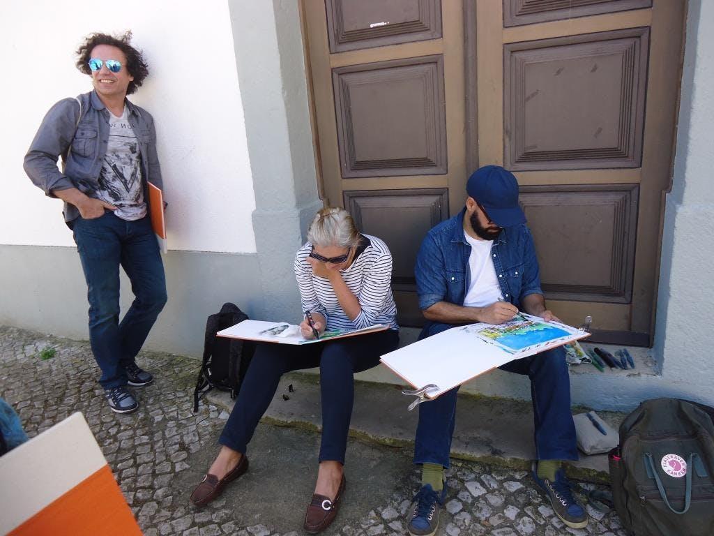"""Formação anual em diário gráfico """"LISBOA, DA"""