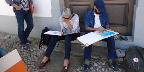 """Formação anual em diário gráfico """"LISBOA, DA OUTRA MARGEM"""" 2019 tickets"""