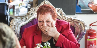 De Koningin van de Voedselbank