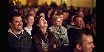 American Comedy Night Salzburg! with Reginald Bärris