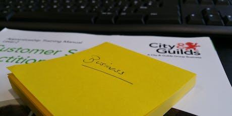 City & Guilds Cust Service & Bus Admin EPA Network-Barking & Dagenham Coll tickets