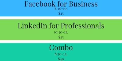 Social Media: LinkedIn & Facebook Training