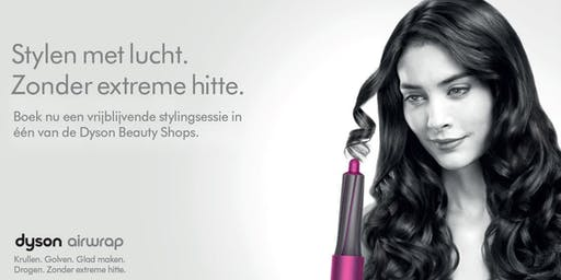 Dyson Styling Sessie @ Hudson's Bay Haarlem