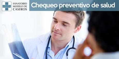 Chequeo Preventivo de Salud entradas