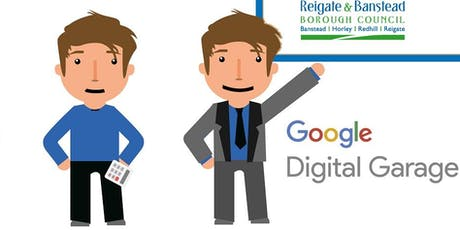 Learning Lunch + Google Digital Garage comes to Reigate & Banstead (for businesses) tickets