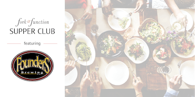 January Supper Club with Founders Brewing