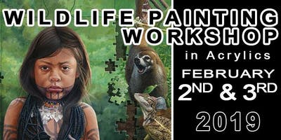 Wildlife Painting Workshop in Acrylics with David Kitler
