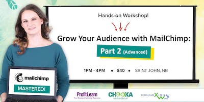 Grow Your Audience with MailChimp – Advanced