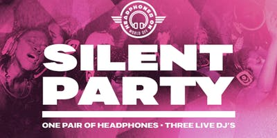 Silent Party at The Room in Highland, IN (HeadphonesOnWorldOff) 03/23