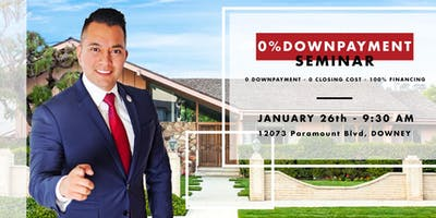 FREE HOME BUYER - 0% DOWN PAYMENT SEMINAR