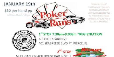 Motorcycle and Car Poker Run