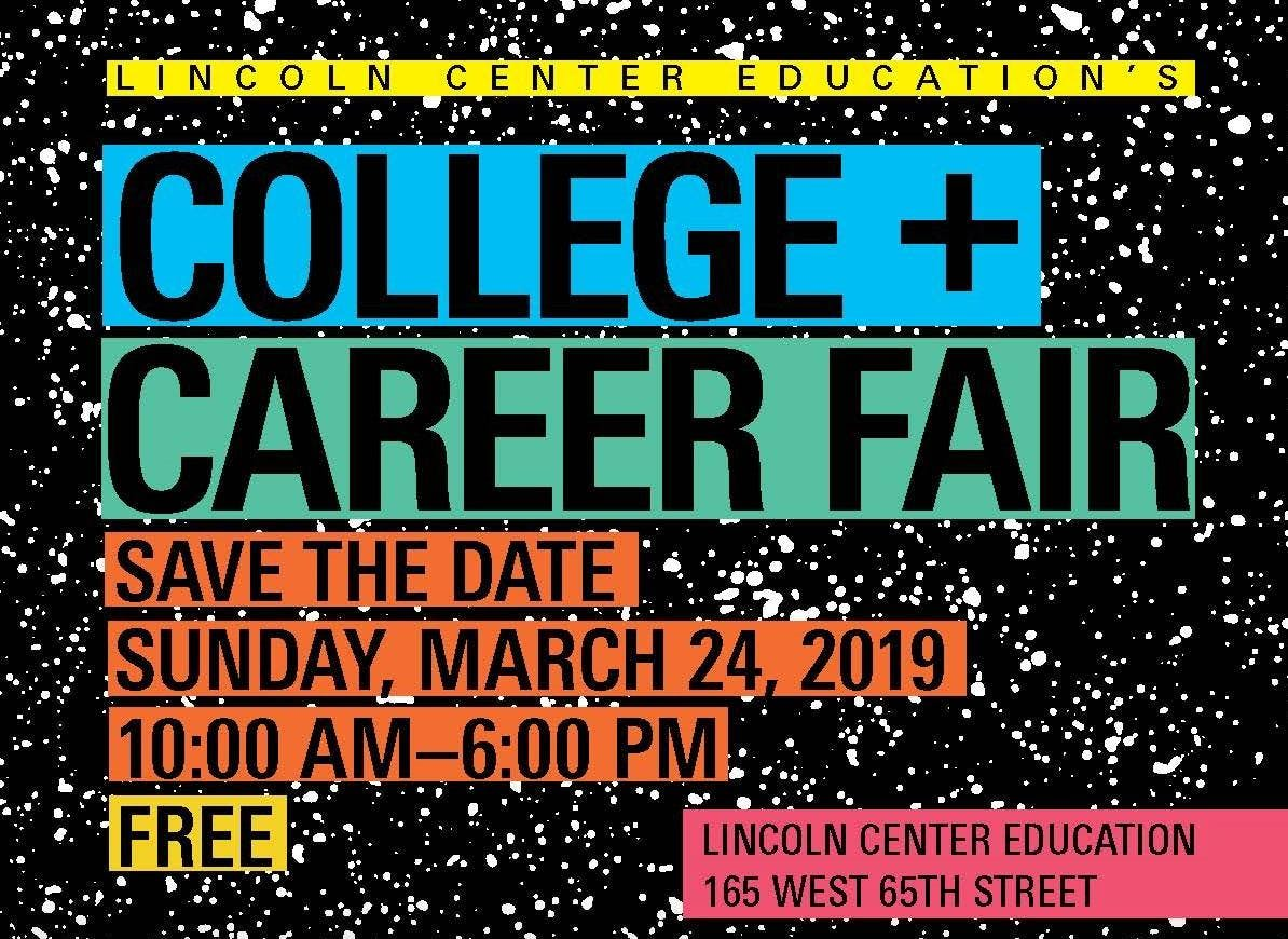 2019 College Career Fair 24 Mar 2019