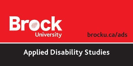 Applied Disability Studies - Speaker Series & Workshop - M. Valdovinos tickets