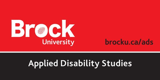 Applied Disability Studies - Speaker Series & Workshop - M. Valdovinos