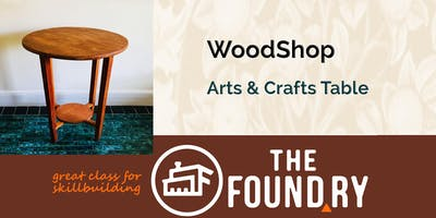 Arts & Crafts Style Table(2) - A Class in Woodworking at The Foundry