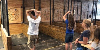 Axe Throwing Date Night