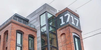1717 Innovation Center Tour - 2019 Schedule
