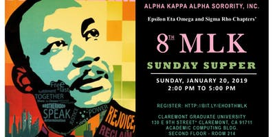 8th Annual MLK Sunday Supper