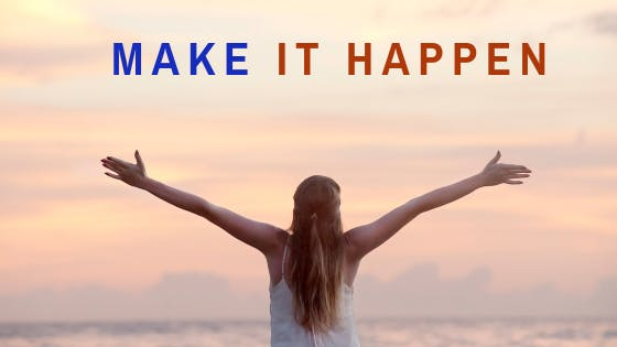 Make it Happen - Book One to One Session with Life Coach & Business Strategist