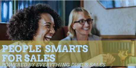 People Smarts for Sales powered by Everything DiSC Sales tickets