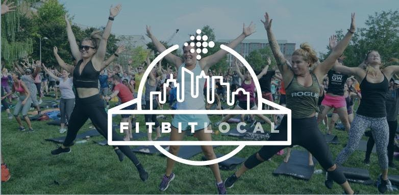 Fitbit Local Sweat. Sip. Play.