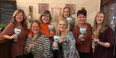 Beer / Wine Glass Painting Class at Von Ebert East - Glendoveer