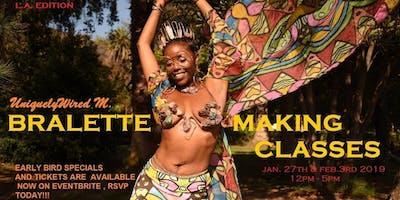 UniquelyWiredM. Bralette Making & Jewelry Classes