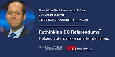 Rethinking BC Referendums