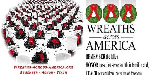 Quantico Single Marine Program (SMP) Volunteer Event-Wreaths Across America - ANC Wreath Laying