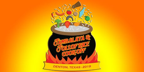 The Jambalaya and Jollof Rice Cook-Off 2019 tickets