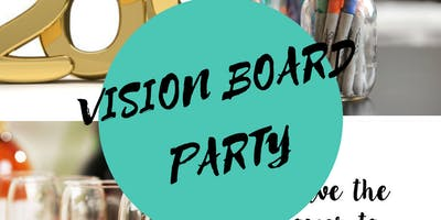 Sip and Create Vision Board Party