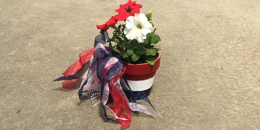 Kids Workshop: Patriotic Pots 6/29 @10:45am
