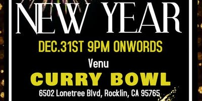CURRY BOWL NEW YEAR EVE 2019 - Rocklin - December Monday 31 2018 9:00