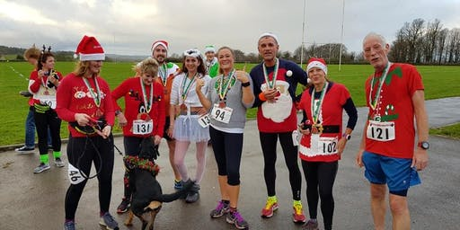 Sherborne Christmas Sweater 5 km