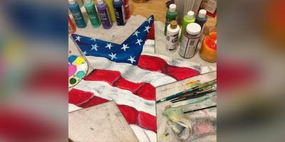 American Flag Star! Essex, Crazy Tuna with Artist Katie Detrich!