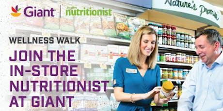 Giant Food Wellness Walks Delaware Tickets Eventbrite