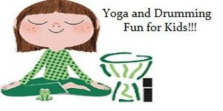 Yoga and Drumming Fun for Kidz tickets