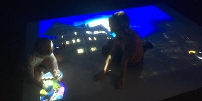 Sensory room and soft play session