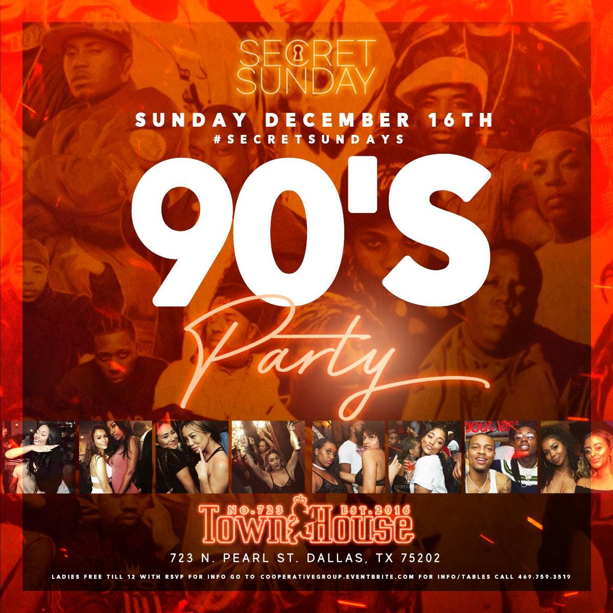 90's Vibe This Sunday at Townhouse